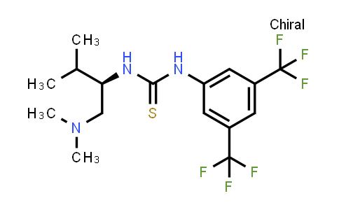1048692-61-0   (R)-1-[3,5-Bis(trifluoromethyl)phenyl]-3-[1-(dimethylamino)-3-methylbutan-2-yl]thiourea