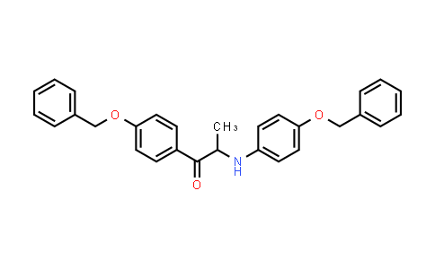 1048697-94-4   1-(4-(Benzyloxy)phenyl)-2-((4-(benzyloxy)phenyl)amino)propan-1-one