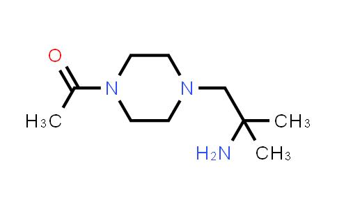 1048919-22-7 | Ethanone, 1-[4-(2-amino-2-methylpropyl)-1-piperazinyl]-