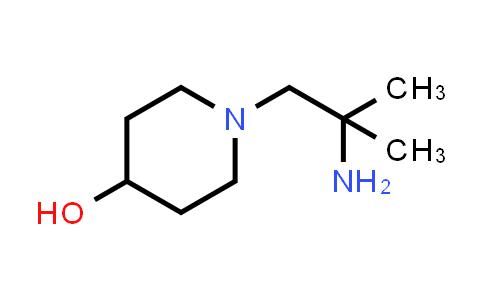 1048919-29-4   4-Piperidinol, 1-(2-amino-2-methylpropyl)-