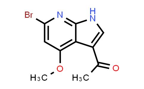 1048966-63-7 | Ethanone, 1-(6-bromo-4-methoxy-1H-pyrrolo[2,3-b]pyridin-3-yl)-
