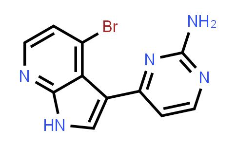 1048967-01-6 | 2-Pyrimidinamine, 4-(4-bromo-1H-pyrrolo[2,3-b]pyridin-3-yl)-
