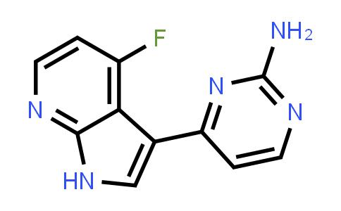 1048967-02-7 | 2-Pyrimidinamine, 4-(4-fluoro-1H-pyrrolo[2,3-b]pyridin-3-yl)-