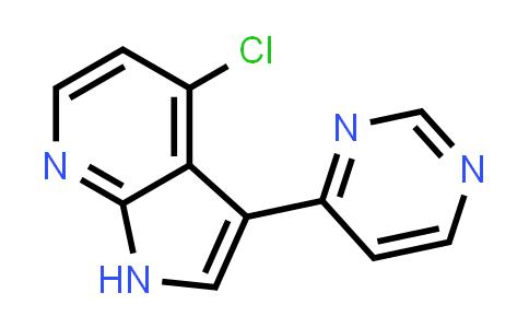 1048967-37-8   1H-Pyrrolo[2,3-b]pyridine, 4-chloro-3-(4-pyrimidinyl)-