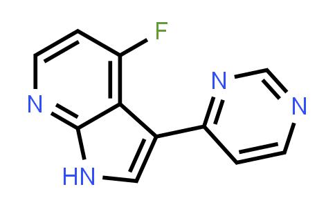 1048967-38-9   1H-Pyrrolo[2,3-b]pyridine, 4-fluoro-3-(4-pyrimidinyl)-