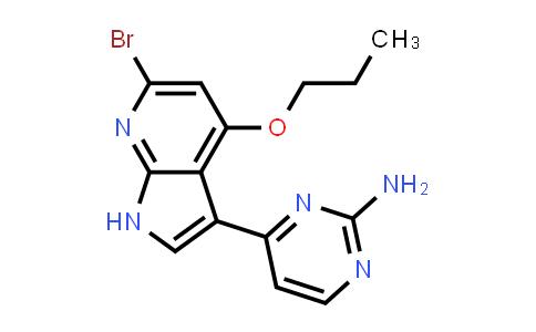 1048967-46-9 | 2-Pyrimidinamine, 4-(6-bromo-4-propoxy-1H-pyrrolo[2,3-b]pyridin-3-yl)-