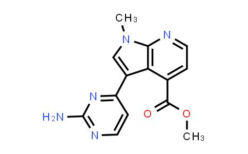 1048967-57-2 | 1H-Pyrrolo[2,3-b]pyridine-4-carboxylic acid, 3-(2-amino-4-pyrimidinyl)-1-methyl-, methyl ester