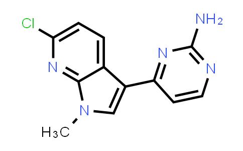 1048967-61-8   2-Pyrimidinamine, 4-(6-chloro-1-methyl-1H-pyrrolo[2,3-b]pyridin-3-yl)-