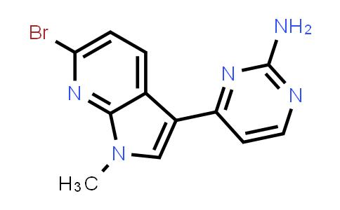 1048967-62-9 | 2-Pyrimidinamine, 4-(6-bromo-1-methyl-1H-pyrrolo[2,3-b]pyridin-3-yl)-
