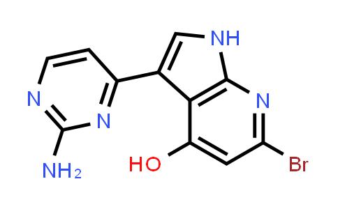 1048967-66-3   1H-Pyrrolo[2,3-b]pyridin-4-ol, 3-(2-amino-4-pyrimidinyl)-6-bromo-