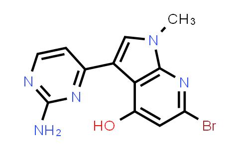 1048967-68-5 | 1H-Pyrrolo[2,3-b]pyridin-4-ol, 3-(2-amino-4-pyrimidinyl)-6-bromo-1-methyl-