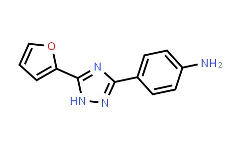 1049032-01-0 | 4-(5-(Furan-2-yl)-1H-1,2,4-triazol-3-yl)aniline
