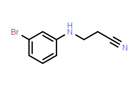 1049118-66-2 | 3-[(3-Bromophenyl)amino]propanenitrile