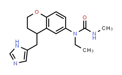 1049633-12-6 | Urea, N-[3,4-dihydro-4-(1H-imidazol-5-ylmethyl)-2H-1-benzopyran-6-yl]-N-ethyl-N'-methyl-