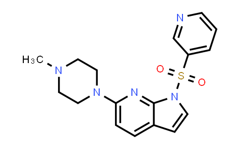 1049650-63-6 | 1H-Pyrrolo[2,3-b]pyridine, 6-(4-methyl-1-piperazinyl)-1-(3-pyridinylsulfonyl)-