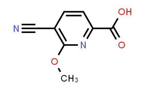 104969-32-6 | 5-Cyano-6-methoxypicolinic acid