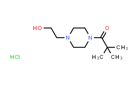 1049700-61-9 | 2-[4-(2,2-Dimethylpropanoyl)piperazin-1-yl]ethanol hydrochloride
