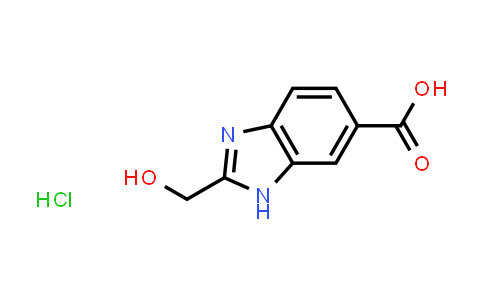 1049716-97-3 | 2-(Hydroxymethyl)-1H-benzo[d]imidazole-6-carboxylic acid hydrochloride