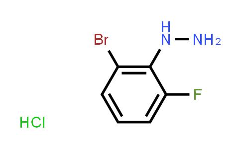 1049729-31-8 | (2-Bromo-6-fluorophenyl)hydrazine hydrochloride