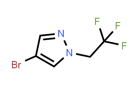 1049730-37-1 | 4-Bromo-1-(2,2,2-trifluoroethyl)-1H-pyrazole