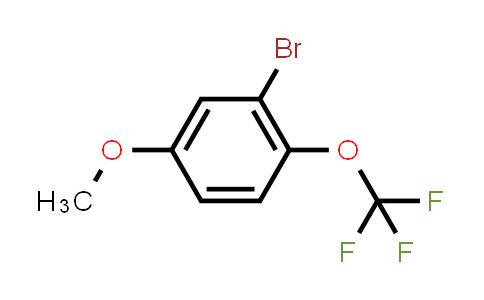 1049730-91-7 | 2-Bromo-4-methoxy-1-(trifluoromethoxy)benzene