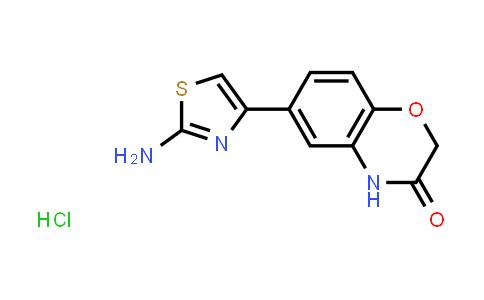 1049742-69-9 | 6-(2-Amino-1,3-thiazol-4-yl)-2H-1,4-benzoxazin-3(4H)-one hydrochloride