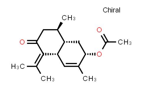 104975-02-2 | 2(1H)-Naphthalenone,6-(acetyloxy)-3,4,4a,5,6,8a-hexahydro-4,7-dimethyl-1-(1-methylethylidene)-,[4R-(4alpha,4aalpha,6beta,8aalpha)]-