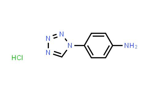 1049766-54-2 | 4-(1H-1,2,3,4-Tetrazol-1-yl)aniline hydrochloride