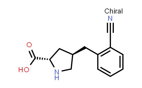 1049981-76-1 | (2S,4R)-4-(2-CYANOBENZYL)PYRROLIDINE-2-CARBOXYLIC ACID