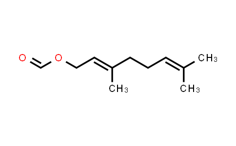 105-86-2 | 3,7-Dimethylocta-2,6-dien-1-yl formate