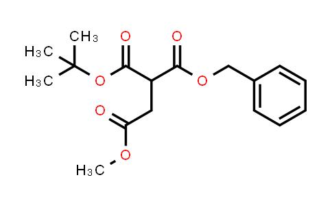1050238-07-7 | 1-Benzyl 4-methyl 2-(tert-butoxycarbonyl)succinate
