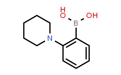 1050505-85-5 | (2-(Piperidin-1-yl)phenyl)boronic acid