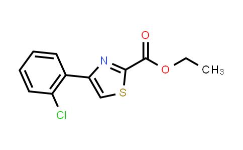 1050507-06-6 | Ethyl 4-(2-chlorophenyl)thiazole-2-carboxylate