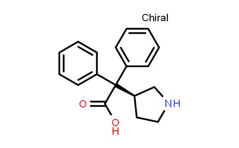 1050646-75-7   (S)-2,2-diphenyl-2-(pyrrolidin-3-yl)acetic acid