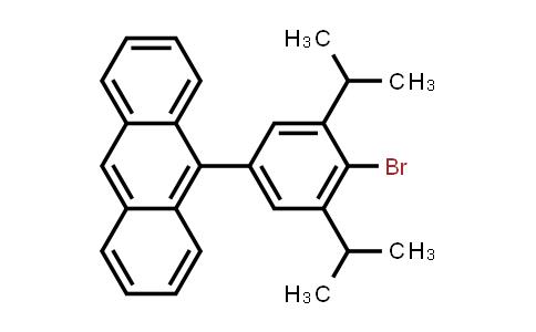 1050749-52-4   9-(4-Bromo-3,5-diisopropylphenyl)anthracene