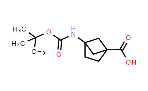 1050886-56-0   4-{[(tert-Butoxy)carbonyl]amino}bicyclo[2.1.1]hexane-1-carboxylic acid