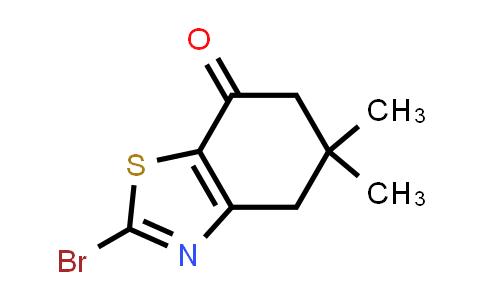 10513-26-5 | 2-Bromo-5,5-dimethyl-5,6-dihydrobenzo[d]thiazol-7(4H)-one