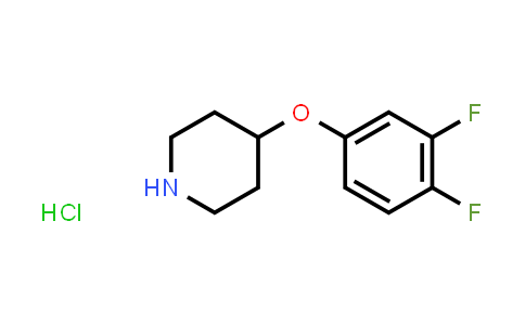1051919-38-0 | 4-(3,4-Difluorophenoxy)piperidine hydrochloride