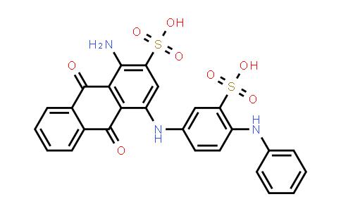 1052088-49-9 | 1-Amino-9,10-dioxo-4-((4-(phenylamino)-3-sulfophenyl)amino)-9,10-dihydroanthracene-2-sulfonic acid