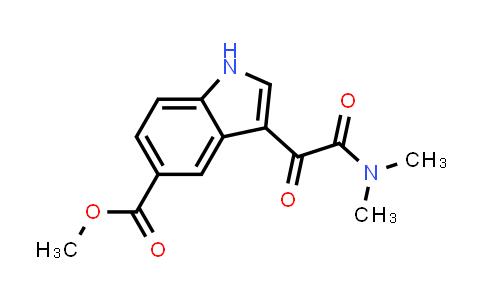 1052181-84-6   Methyl 3-(2-(dimethylamino)-2-oxoacetyl)-1H-indole-5-carboxylate
