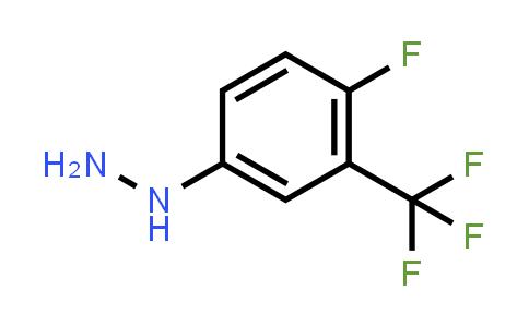 105224-02-0   (4-fluoro-3-(trifluoromethyl)phenyl)hydrazine