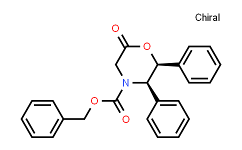 105228-46-4 | (2S,3R)-Benzyl 6-oxo-2,3-diphenylmorpholine-4-carboxylate