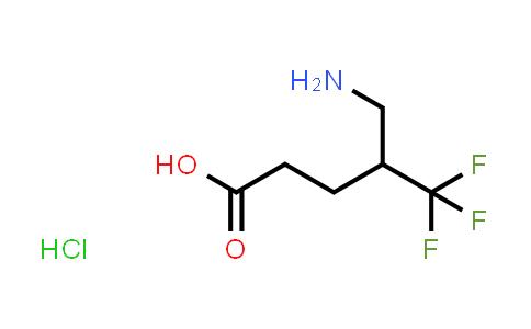 1052404-68-8 | 5-Amino-4-(trifluoromethyl)pentanoic acid hydrochloride