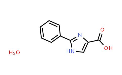 1052410-02-2   2-Phenyl-1H-imidazole-4-carboxylic acid hydrate