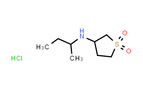 1052420-41-3 | N-(sec-Butyl)tetrahydrothiophen-3-amine 1,1-dioxide hydrochloride