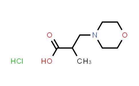 1052522-32-3 | 2-Methyl-3-morpholin-4-ylpropanoic acid hydrochloride