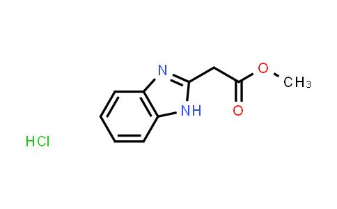 1052528-15-0 | Methyl 2-(1H-1,3-benzodiazol-2-yl)acetate hydrochloride