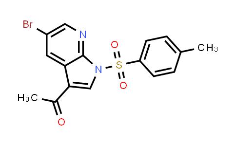 1052633-38-1   1-(5-Bromo-1-tosyl-1H-pyrrolo[2,3-b]pyridin-3-yl)ethanone
