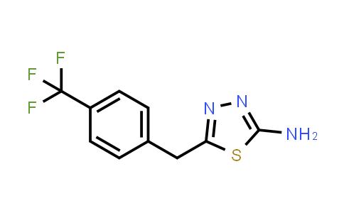 1052694-85-5   5-(4-(Trifluoromethyl)benzyl)-1,3,4-thiadiazol-2-amine