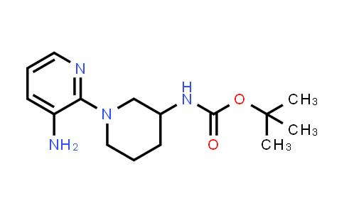 1052705-54-0 | tert-Butyl (1-(3-aminopyridin-2-yl)piperidin-3-yl)carbamate